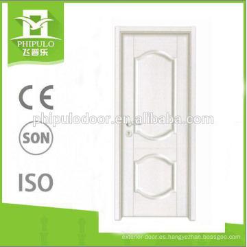 Puerta blanca de calidad superior de la melamina de la superficie del color en venta caliente
