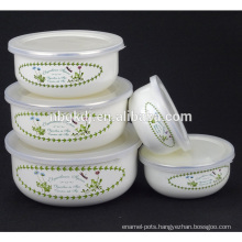enamel finger bowl
