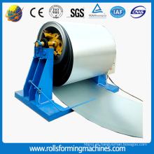 Corte a la línea de producción de longitud como procesamiento de metal