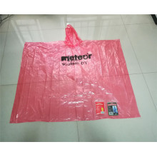 new design adult waterproof pe rain poncho