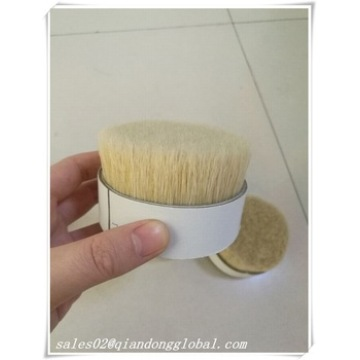Natural White Boiled Bristle Hair