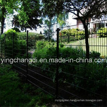Anping PVC Coated Double Wire Mesh Fence (20 years factory)