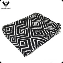 2016 Новый пользовательский дизайн Diamond Knit Throw Blanket