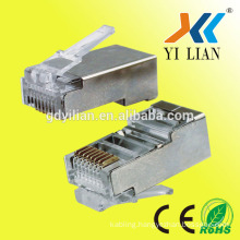 high quality network stp cat6 rj45 connector for cat6 network cable