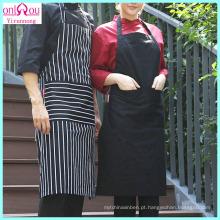 Avental de cozinha com tecido de poliéster de algodão fabricado na China