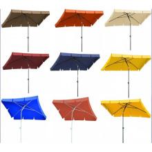 Parapluie extérieur lumineux plage Straight Square