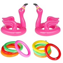 Eastommy new products Flamingo Inflatable Ring Toss Game