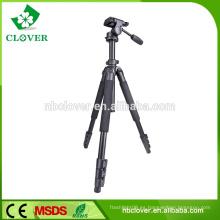 Trípode ligero para cámara digital con cabeza panorámica de 3 vías