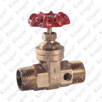 M * M FORGE BRASS GATE VALVE