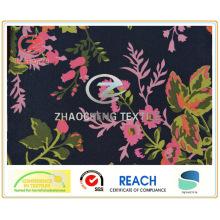 600d ткань печати цветка Oxford (ZCGP074)