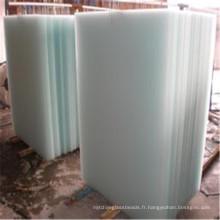 Verre gravé à l'acide d'Art de Decoratvie teinté pour le verre de meubles