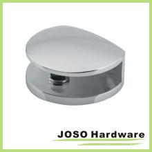 Clip de verre de porte de douche en miroir style rond (BH610)