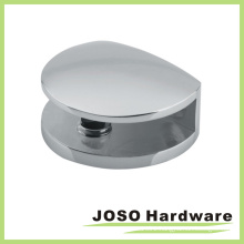 Round Style Mirror Polish Shower Door Glass Clip (BH610)
