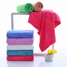 Wholesale Custom Cleaning Weft Knitting Microfiber Towel
