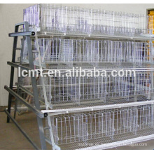 material de jaula de pollo galvanizado profundo para gallinas ponedoras