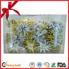 Weihnachtsgeschenk Verpackung PP Materialien Ribbon Geschenkset
