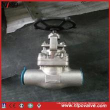 API 602 Geschmiedetes Stahlgewinde-Kugelventil (J11H)