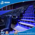 Safety Aluminum Anti Slip LED Stair Nosing for Cinema Industry