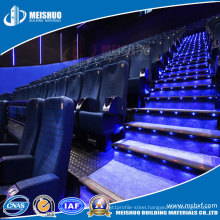 Safety Aluminum Anti Slip LED Stair Nosing for Cinema Industry