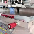 Semi auto silk screen equipment