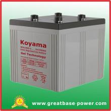 Bateria de gel híbrido estacionário 1500ah 2V para sistema de energia solar