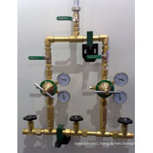 Gas Manifolds for Gas Supply System