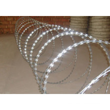 Hot-Dipped Galvanized Steel Razor Barbed Wire