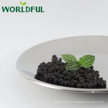 Additif de perçage d'huile 100% Humate de sodium soluble dans l'eau granulaire