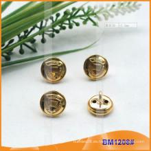 Forme los botones de cobre amarillo del oro para los militares BM1208
