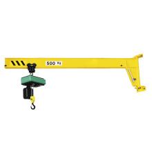 Customized 2ton 8m wall mounted jib crane