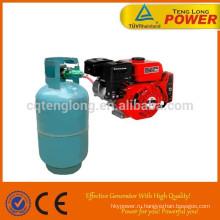 Eco топлива 15 hp газа двигатель продаж