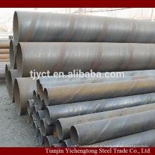 Tuyau d'acier soudé en spirale pour la fabrication de pétrole et de gaz