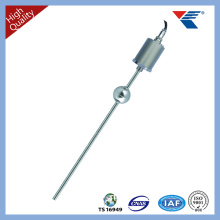 Special liquid level sensor for filling machinery