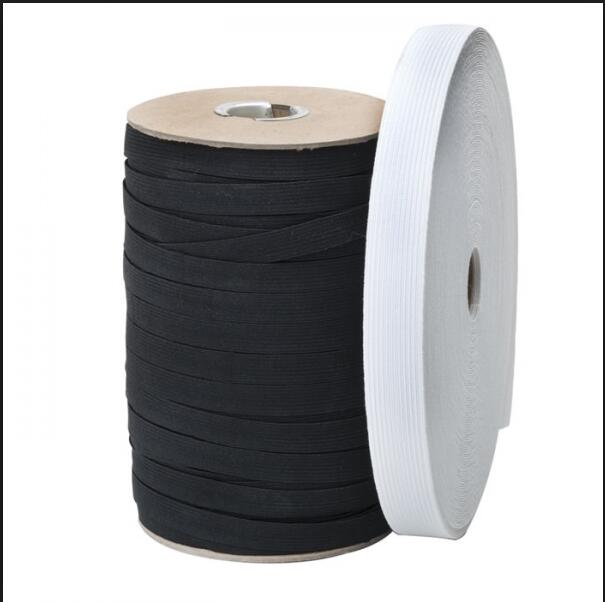 Black Knitted Elastics