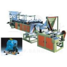Машина для производства мешков с лентой для непрерывной прокатки