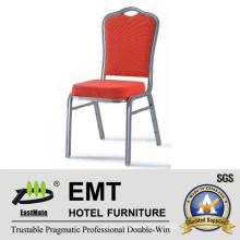 Chaise de banquet à chaud à coussin rouge (EMT-510-1)