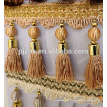 beautiful and elegant yellow curtain tassel