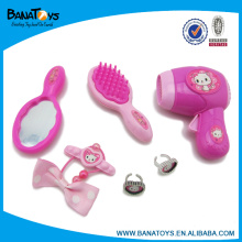 11pcs plastic girls toy beauty play set