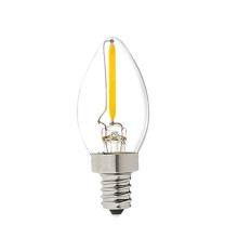 L'éclairage de décoration a mené l'ampoule extérieure C7 de l'ampoule E12