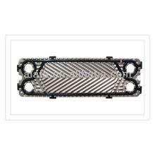 316L пластины пластинчатый теплообменник