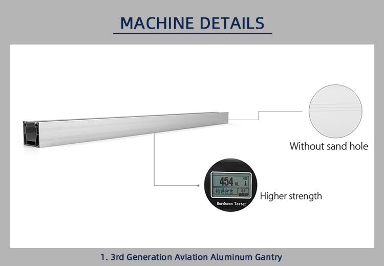 high precision fiber laser cutter 1390