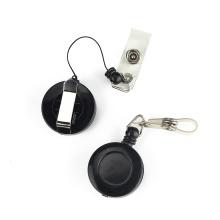 Retractable Plastic Badge Holder Pull Reel