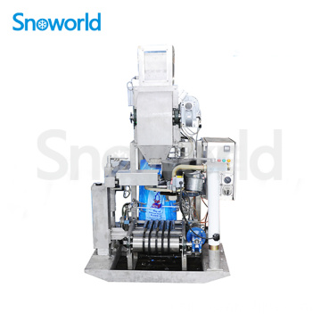 Machine d'emballage de glace automatique Snoworld