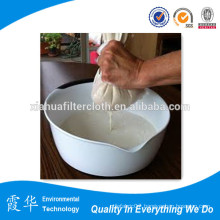 80 microns nylon nut milk bag round bottom