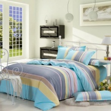 100 % Baumwolle reaktive gedruckt Bettlaken Set /Duvet-Cover-Set