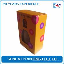 Caixa pequena por atacado personalizada do perfume do cartão de empacotamento do presente