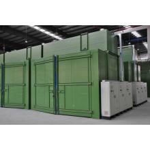 Chambre de durcissement et de séchage (chauffage au gaz)