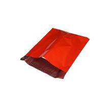 Nouveau sac d'emballage en plastique rouge de cadeau de LDPE de matériel