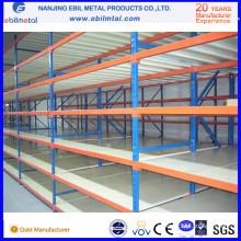 Ce-Certificated High Quality Powder Coated Steel Long Span Rack / Shelf
