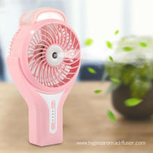 Desktop Electric Plug Handheld Mini Misting Fan